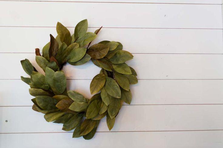 Signature Magnolia Wreath Outdoor Decorating Magnolia
