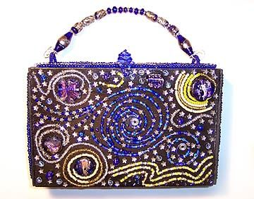 PURSE: Starry Night…making a cigar box handbag using Starry Night painting as inspiration
