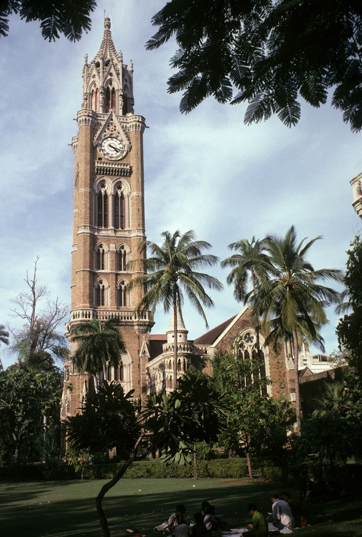 Rajabai Clock Tower, University of Mumbai, India