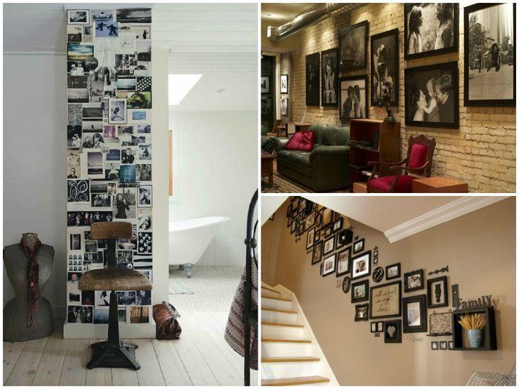Oltre 25 fantastiche idee su appendere le foto su for Idee per decorare una parete