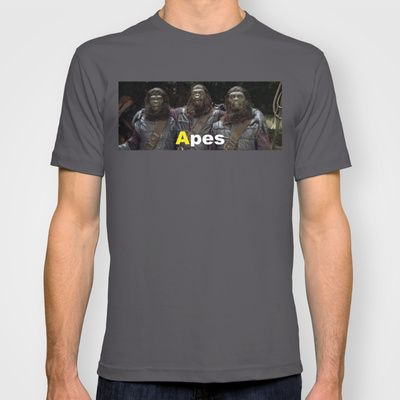 A is for Apes  T-shirt by Rotton Cotton Candy  - $18.00