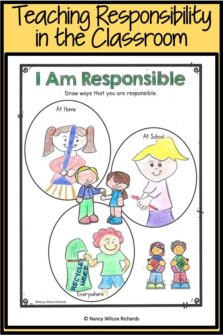 Teaching Responsibility Character Education Responsibility