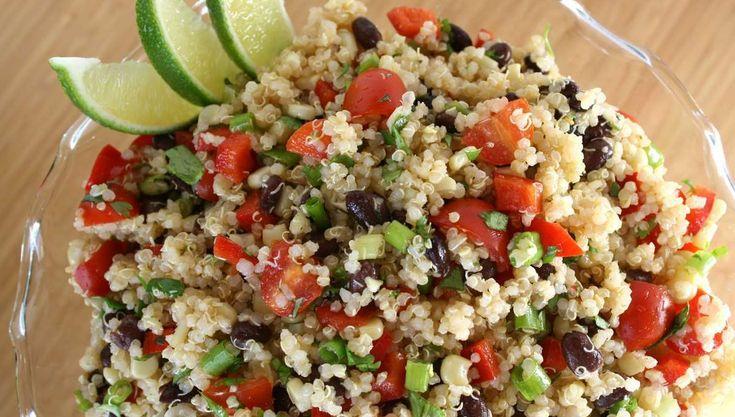 L'insalata messicana di quinoa è una ricetta leggera ma molto gustosa, ricca dai sapori forti e decisi. Ottima da gustare a casa o in pausa pranzo.