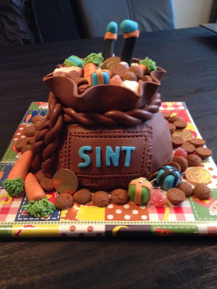 Sinterklaas cake I made