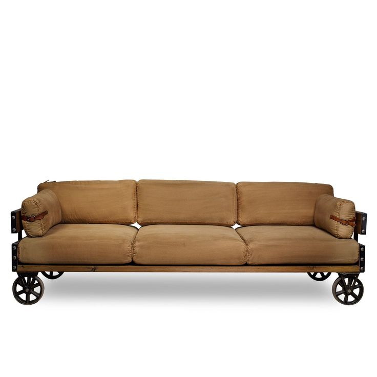 Sof west canvas 3 plazas sof s sillas de dise o - Disenos de sofas ...