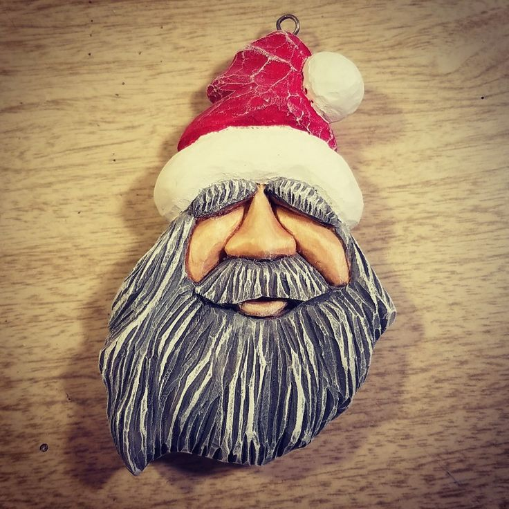 Handcarved ornament  made by Kevin Jones.