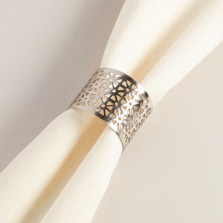 Best 25 Contemporary napkin rings ideas on Pinterest