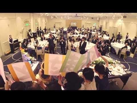 結婚式余興 恋するフォーチュンクッキー フラッシュモブ メイキング(終わりなき旅) - YouTube