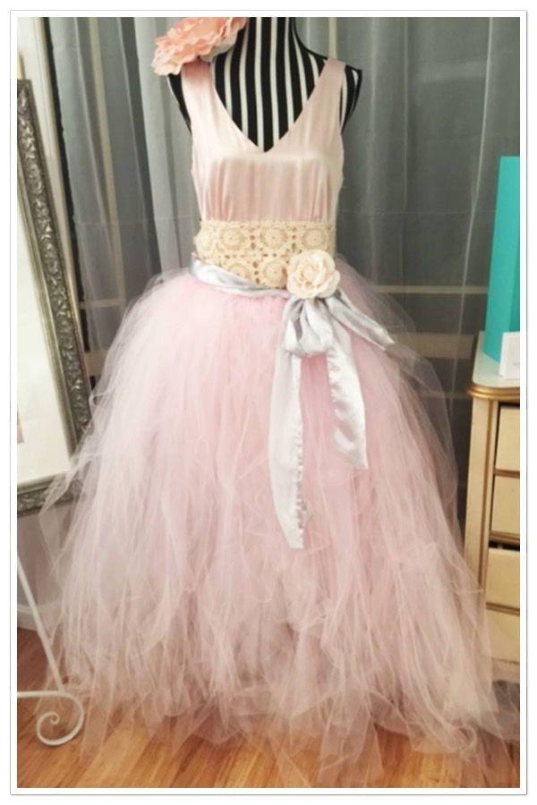 long baby pink tutu skirt adults $65 long rose mauve tutu Long tutu skirt made to order any colour #longtutu #loveyoututu