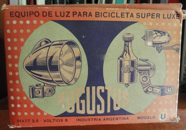 Augustus... Faro y dinamo para bicicletas