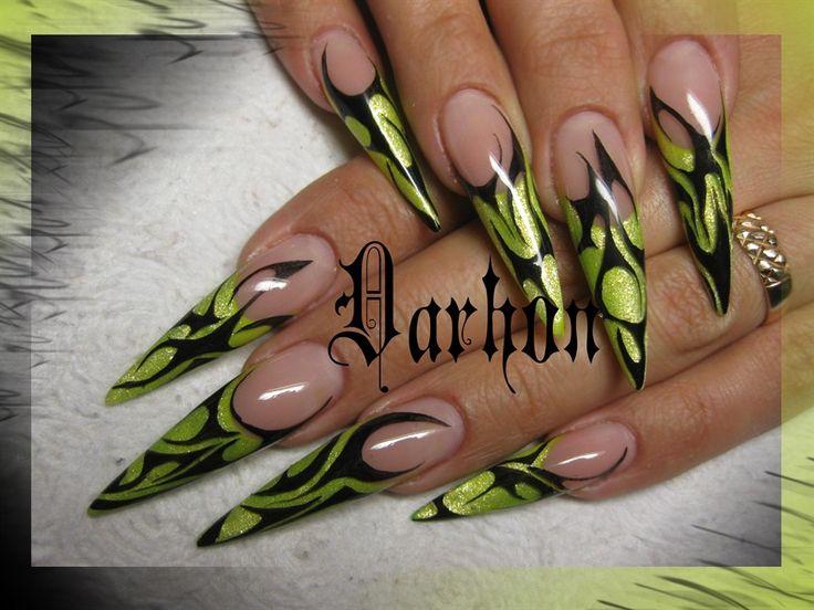 31 best Nail Art...Stilettos images on Pinterest | Stiletto nail ...