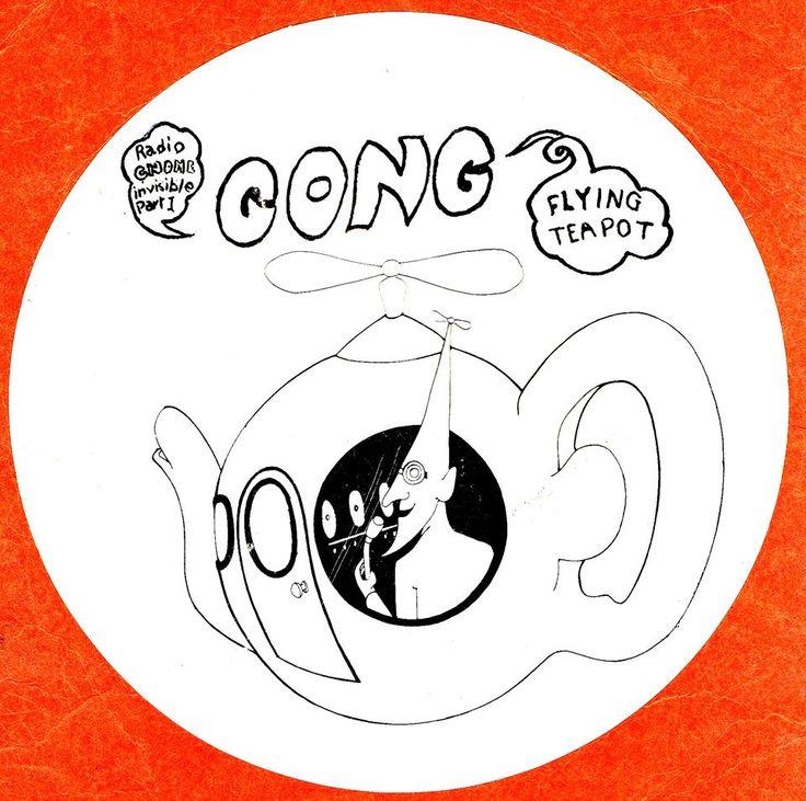 Gong sticker 1974