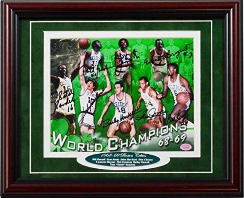 1968-1969 Boston Celtics Autographed Framed 8x10 Photo - Autographed NBA Photos *** Find out more about the great product at the image link.