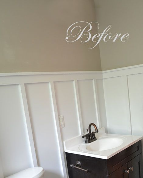 Wainscoting Bathroom: 1000+ Images About Wainscoting Ideas On Pinterest