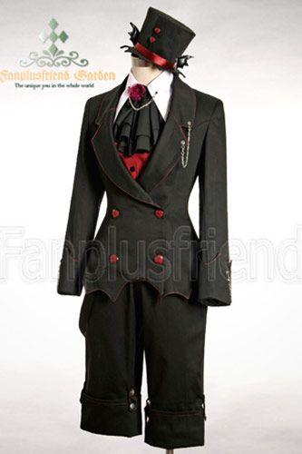 Veste noire chauve-souris major d'homme élégant gothique > JAPAN ATTITUDE - VETVES139