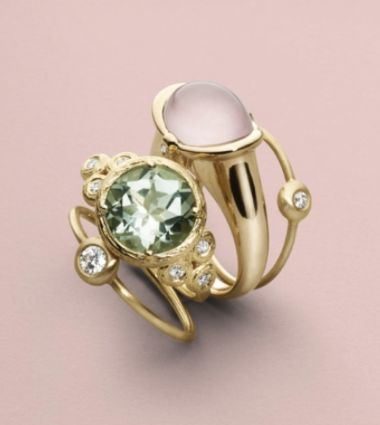 These rings is in the collection under the name IDA which means the precious one. And we can understand why