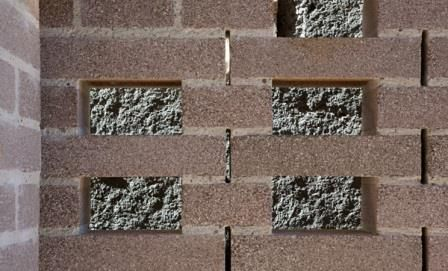 Brick detail - Aperture House TWOFOLD STUDIO/COX RAYNER ARCHITECTS