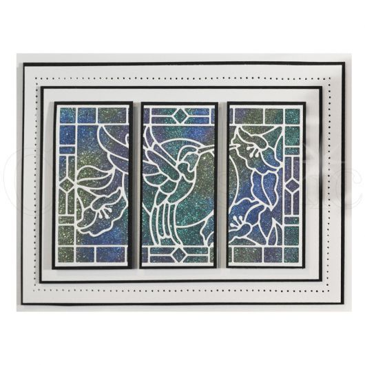 Sue Wilson Craft Dies - Stained Glass Collection - Hummingbird