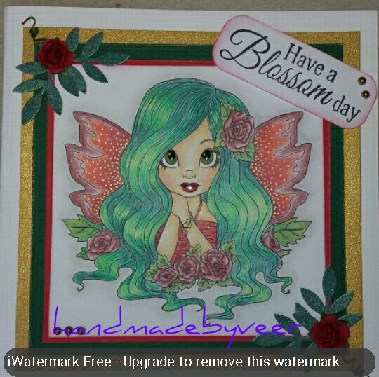 Image by Faery ink.  Coloured with polychromos and derwent pencils