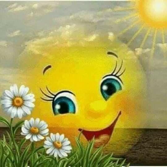 Прикольное солнышко открытка, картинка прикольная