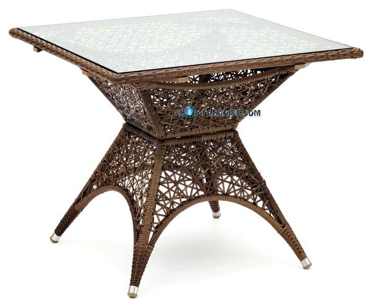 die besten 17 ideen zu polyrattan tisch auf pinterest. Black Bedroom Furniture Sets. Home Design Ideas