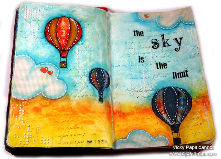 Art journal video with Vicky - Faber-Castell Design Memory Craft