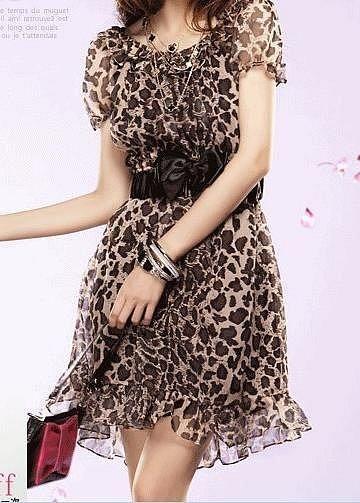 Леопардовое платье купить в москве