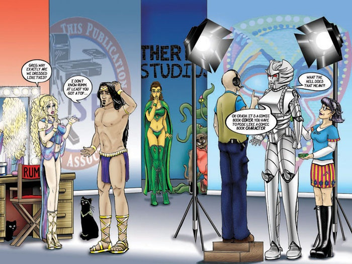 Artwork and other stuff from comic book, Rummblestrips, created by Joanne Ellen Patak