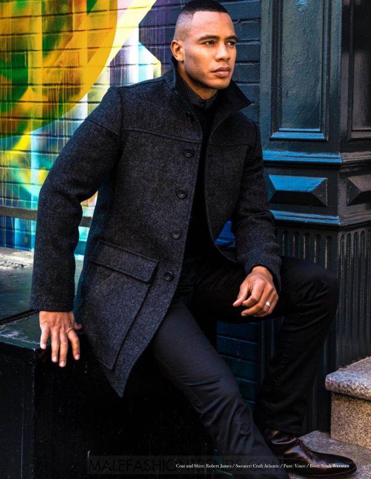 Trai Byers, actor de la serie Empire protagoniza una serie de fotografías para el número de invierno de Man of Metropolis