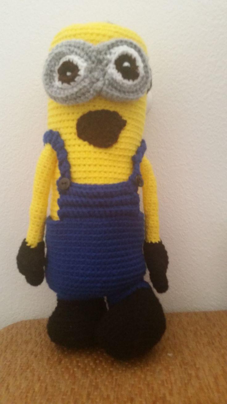 96 besten Crochet Minion Bilder auf Pinterest | Schergen häkeln ...