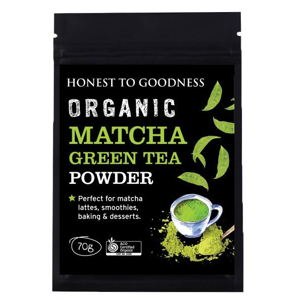 Organic Matcha Green Tea Powder 70G