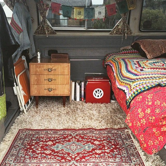 Van life - love the carpet