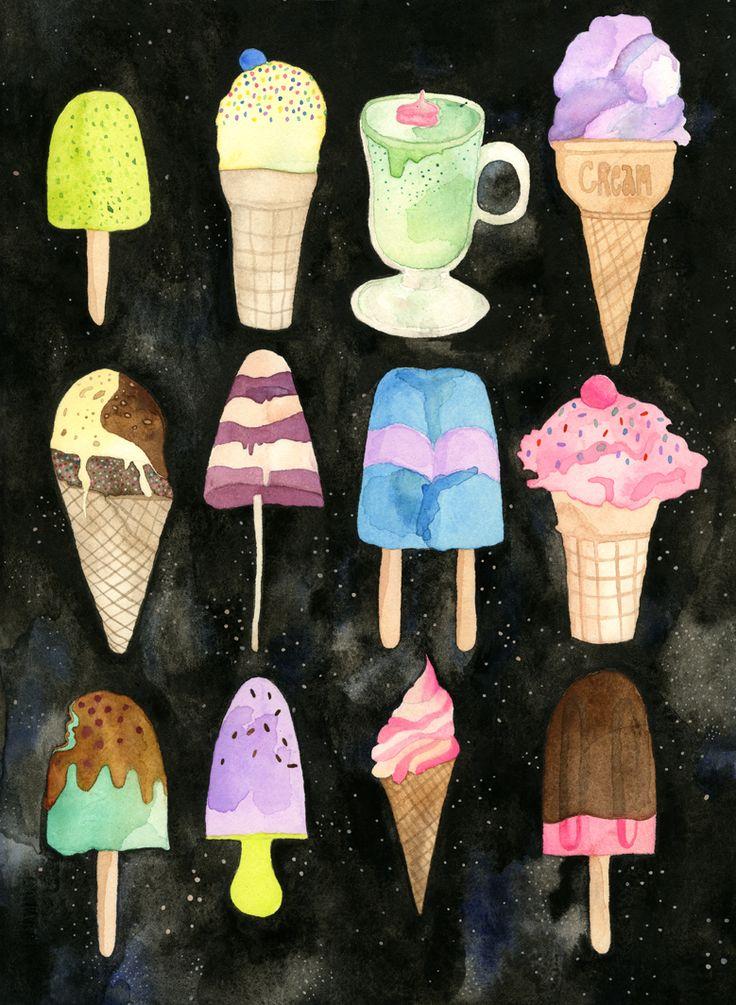 Crème glacée galactique