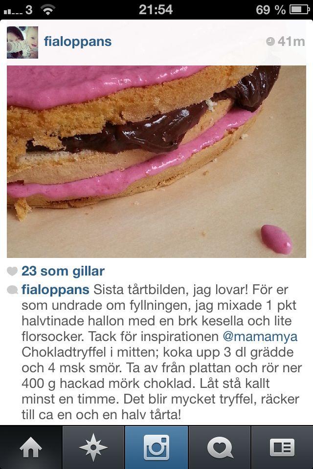 Rainbow cake ingredienser