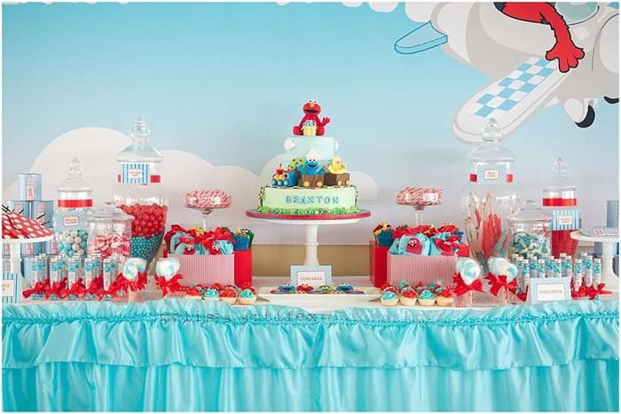 Elmo and Friends Party