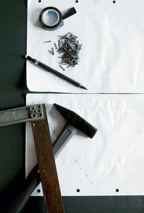 DIY: String art - Skab dine egne kunstværker med søm og snor - Boligliv