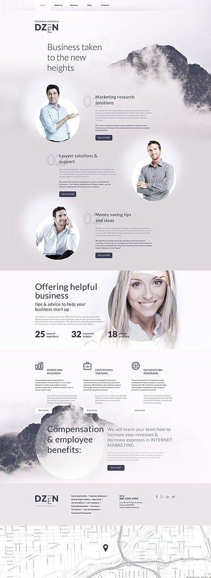 30 best Drupal Themes images on Pinterest   Drupal, Website template ...
