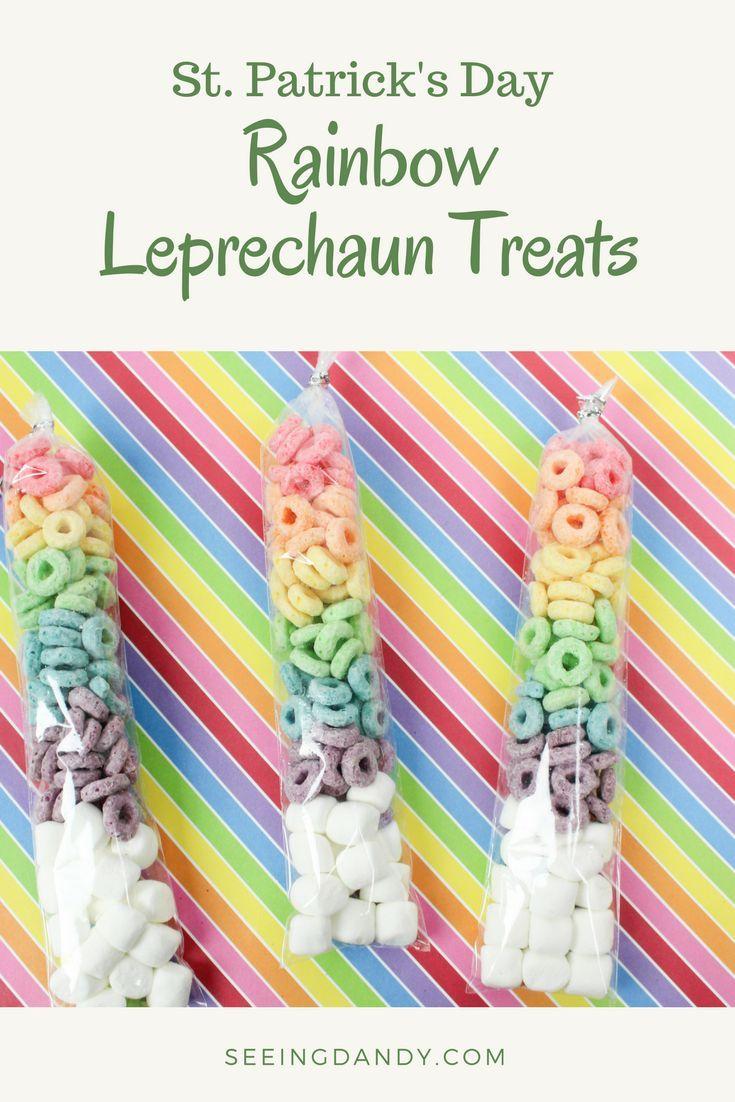 rainbow leprechaun treats