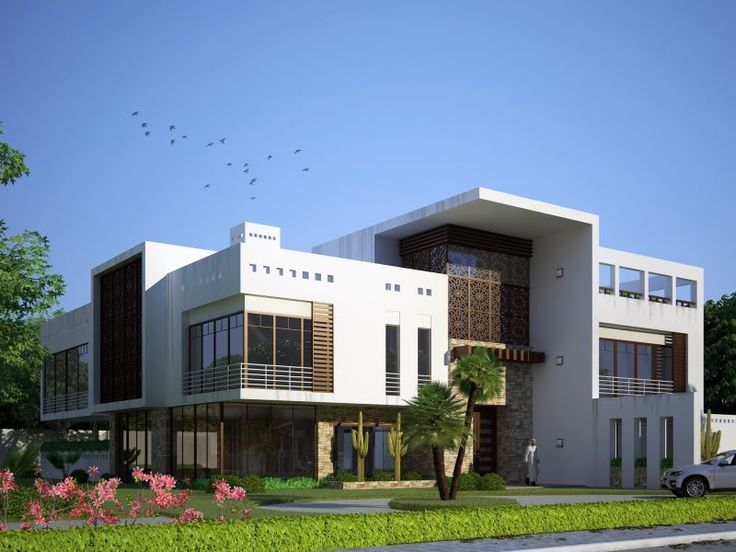 Arabic modern villa google search arabic modern style for Modern roman villa house plans