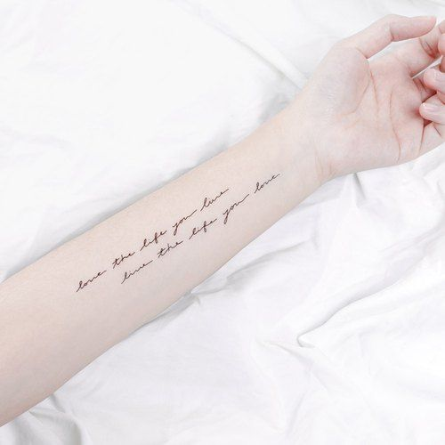 Tattoo Tattoo Sticker / Choose your favorite love tattoo you selected Surprise Tattoos