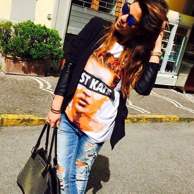 Bazaretto for Tee Trend #bazaretto #teetrend #katemoss #paesanoesasso #tshirt