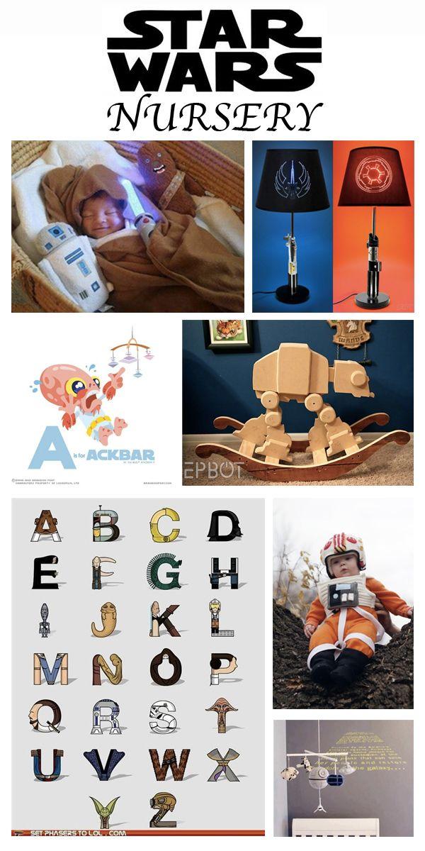 Star Wars Nursery!  Don't have kids but dang that's cute!!!! #Geek Nursery
