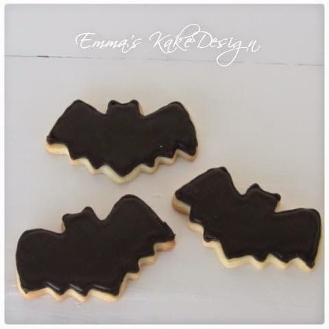 Emmas KakeDesign: Batman Sugar Cookies!