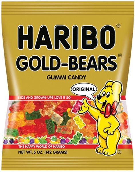 Haribo Gold Bears from Gourmet International  www.Gourmetint.com