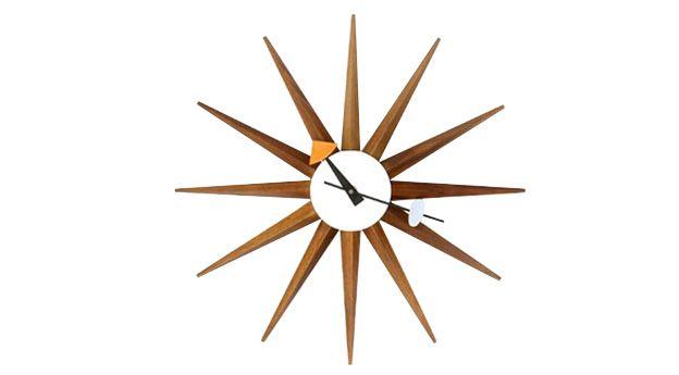 zegary | sunburst clock | mesmetric concept store