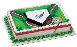 Los Angeles Dodgers Cake #1