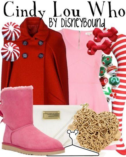 http://disneybound.tumblr.com/ Disneybound  Disney fashion The Grinch