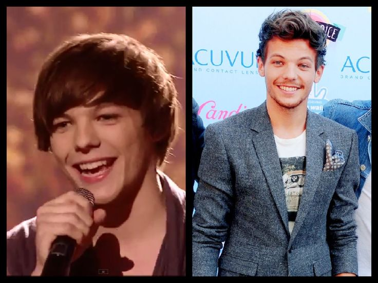 Louis Tomlinson Pinterest: Louis Tomlinson - Then And Now