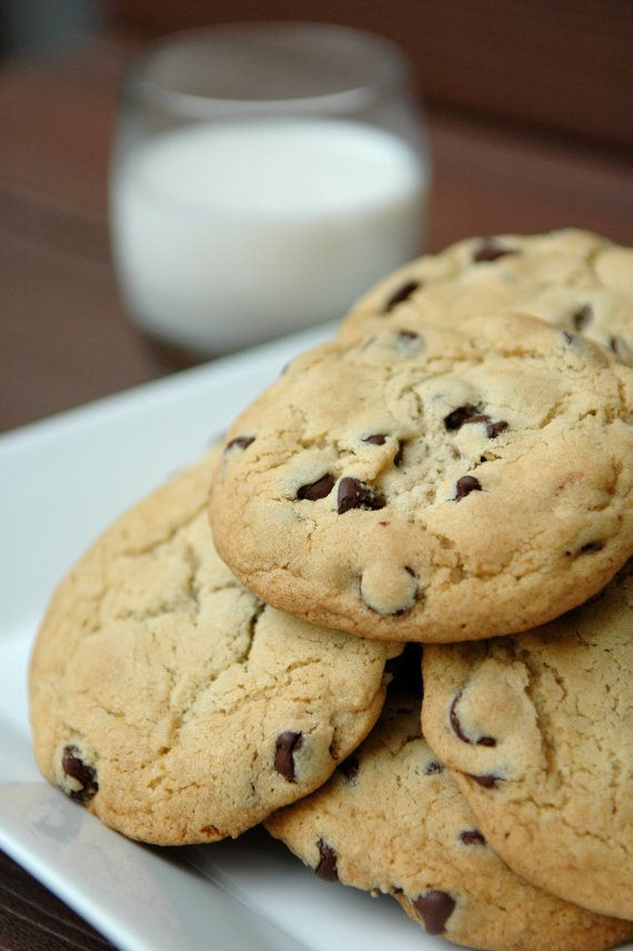 Classic Chocolate Chip Cookies by the Dozen
