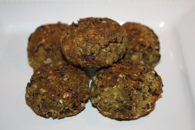 Baked Falafel and Soy Protein Isolate